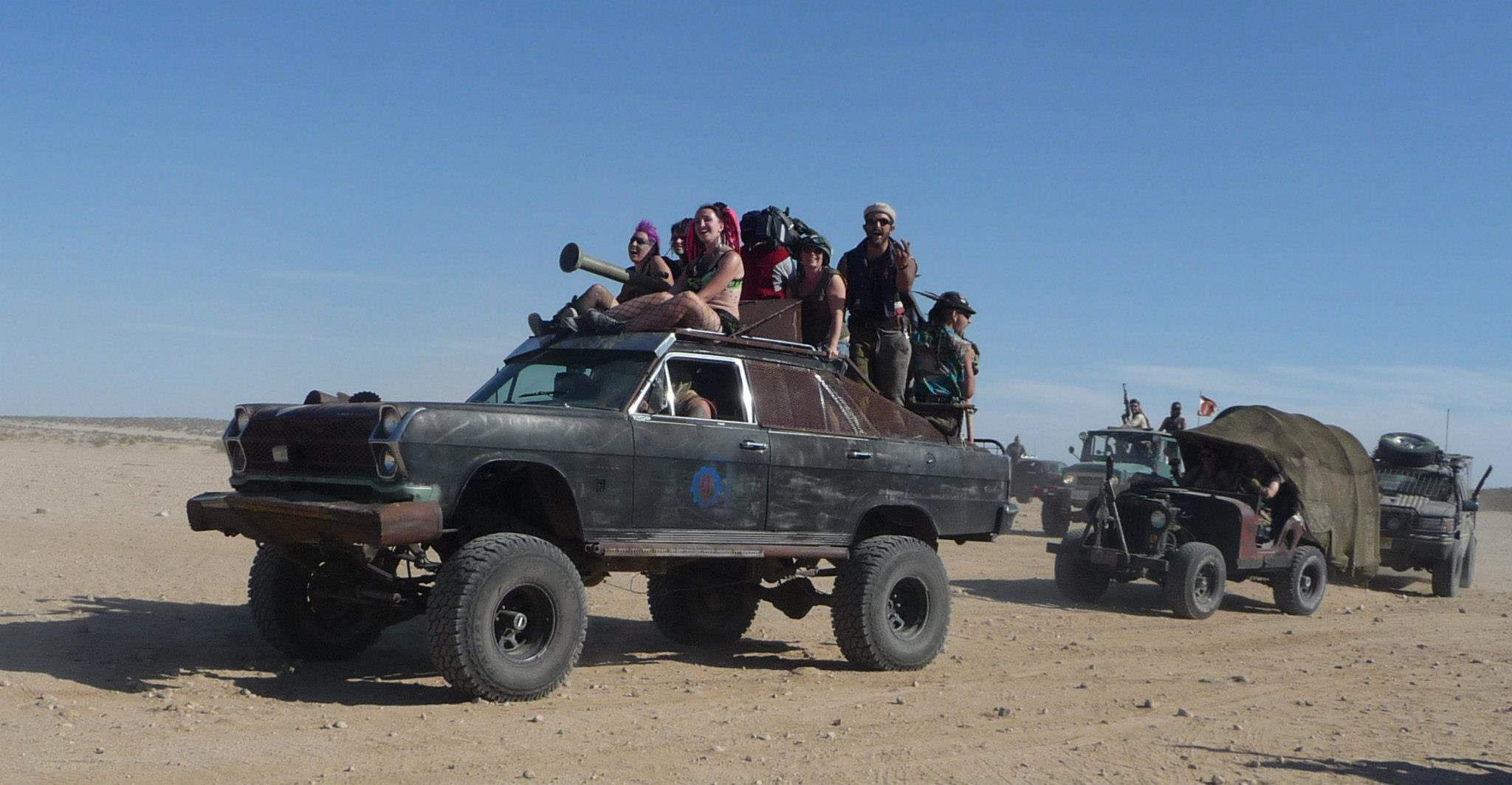 Car From Mad Max