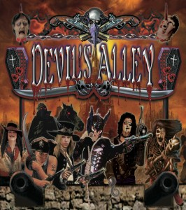 DEVIL'S ALLEY - Wasteland Group Pic & Logo (2013)_CMYK