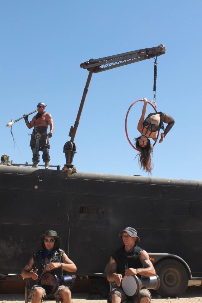 arealist on war rig crane